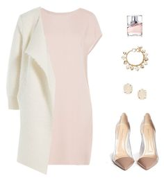 """Untitled #746"" by patrisha175 ❤ liked on Polyvore featuring Agnona, Burberry, Gianvito Rossi, Kendra Scott, Forever 21, BOSS Hugo Boss, women's clothing, women's fashion, women and female"