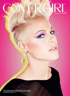 Pink covergirl | Pink At Covergirl Ad Campaign 2013