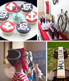 Pirate birthday party. HOW AWESOME WOULD IT BE IF YOU HAD A POOL SO PUT THE PLANK OVER THE POOL AND IF THEY FALL, THEY FALL INTO THE POOL AND SWIM OUT!!!!