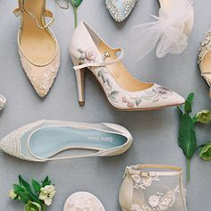 Luxurious and romantic collection of wedding and dress shoes. Shop handmade, high quality, delicate, and beaded wedding shoes
