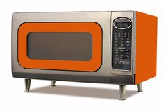 Coolest Retro Microwave! Comes in multiple colors - the light blue is my fav.