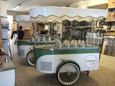 Greenie Scoop Factory #icecreamcart #gelatocart #wedding #icecream #tekneitalia