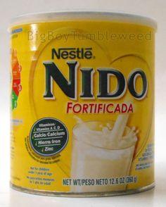 Nestle-NIDO-Fortificada-dried-dry-whole-milk-powdered-12-6oz-can-Vitamin-A-C-D #BigBoyTumbleweed