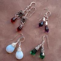How to Make and Wire Wrap Briolette Earrings - The Beading Gem's Journal