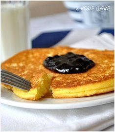 Omlet biszkoptowy - przepis - I Love Bake Good Food, Yummy Food, Sweets Cake, Pumpkin Cheesecake, Something Sweet, Food Photo, Cookie Recipes, Breakfast Recipes, Gastronomia