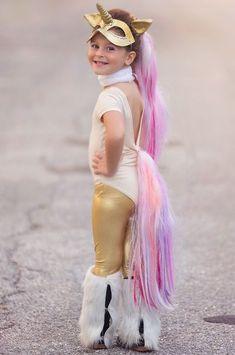 Unicorn costume make yourself: DIY & instructions - Fasching - Halloween