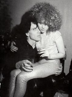 Poison Ivy & Lux of the Cramps.