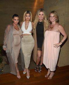 Shop Fly Nation's Extended Second Skin Suede Tan Maxi Skirt Kylie+Jenner+Kardashian+Jenner+App+Launch+gfGuXjh8deNx