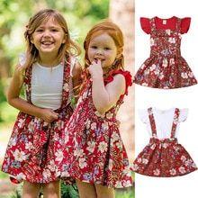36efb1045a5e Summer Sister Matching Floral Suspender Dresses Clothing Set. Suspender  DressTwin OutfitsOverall DressTwin BabiesTwinsRuffle SleeveKids BoysBaby ...