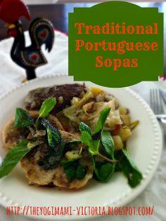 Delicious Traditional Portuguese Sopas Recipe. Makes a great ethnic alternative to pot roast!