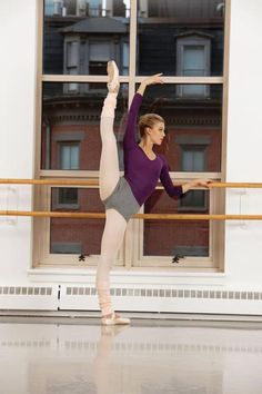 That girl in front of you at the barre who can extend like a boss and make you feel like a fat lazy retard :p