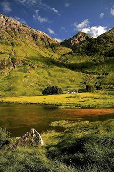 Loch Achtriochtan, Glen Coe, Scotland by Barbara Jones