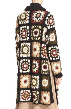 Granny Square Crochet Cardigan Pattern Ideas for Summer or Winter - Page 45 . Granny Square Crochet Cardigan Pattern Ideas for Summer or Winter – Page 45 of 59 – lasdies Boho Crochet, Gilet Crochet, Crochet Coat, Crochet Cardigan Pattern, Crochet Jacket, Crochet Shawl, Crochet Clothes, Crochet Patterns, Granny Square Sweater