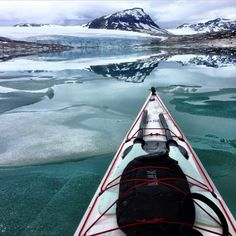 Anyone else think that kayaking in Norway looks magical? / @kristoffervan #REI1440Project