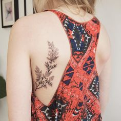 Lilacs - Tattoo People Toronto - Jess Chen (placement)