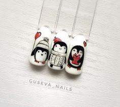 Xmas Nail Art, Holiday Nail Art, Xmas Nails, Christmas Nail Designs, Christmas Nails, Stylish Nails, Trendy Nails, Cute Nails, Nail Manicure