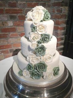 Contemporary Wedding Cakes – 1.