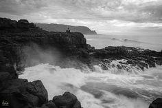 black and white photography on Kauai