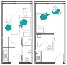 JDS architects: 'M6B1' student housing, paris