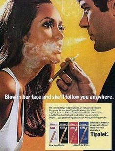 Ah, the good ol' days of sexism in advertising. Check out these vintage sexist ads from the & Real men & housewives, they'd be funny if they weren't real Vintage Humor, Weird Vintage Ads, Pub Vintage, Posters Vintage, Retro Ads, 1950s Ads, 1970s, 1950s Posters, Vintage Romance