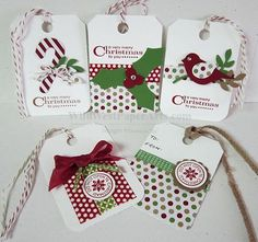Great holiday tags