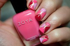 My Awesome Beauty creates a Vday nail l ook featuring Ziv, Lo, Gweneth, Layla and Sweet!