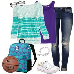 I like this. I really like the basketball and glasses.