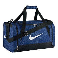 0bb72448bc Nike Brasilia 6 Graphic Duffel Bag Small Deep Royal Blue Black    More info