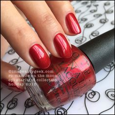OPI ~ Ro-man-ce On The Moon