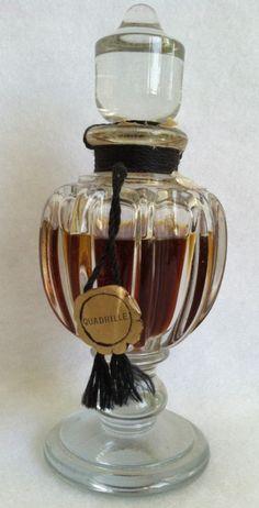 VINTAGE BALENCIAGA 'QUADRILLE' PERFUME RARE 2OZ | eBay