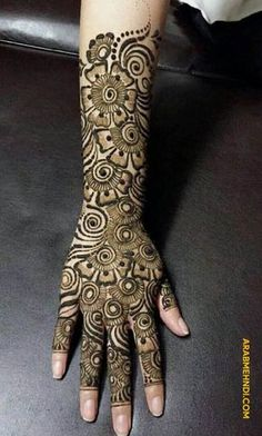 50 Most beautiful Full Hand Mehndi Design (Full Hand Henna Design) that you can apply on your Beautiful Hands and Body in daily life. Dulhan Mehndi Designs, Mehandi Designs, Latest Bridal Mehndi Designs, Khafif Mehndi Design, Latest Arabic Mehndi Designs, Mehndi Design Photos, Wedding Mehndi Designs, Tattoo Designs, Henna Mehndi