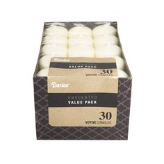 Dynamic Collections Unscented 12 Hour Votive Candles 1.4'X1.8' 30/Pkg Ivory ** Details can be found by clicking on the image.
