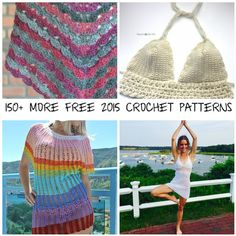 150 More Free 2015 Crochet Patterns