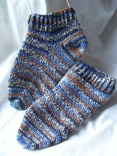 Ravelry: Round and Round Toe Up Socks pattern by Nadine Borovicka