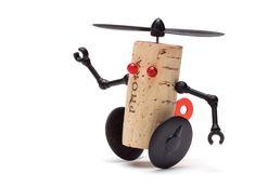 Reddish - Design Studio - cork robots