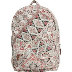 Billabong Women's Hand Over Love Backpack (€41) ❤ liked on Polyvore featuring bags, backpacks, accessories, multi, zip bags, billabong, bohemian backpack, beach bag y zipper bag