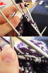 Koti kuusen alla: Muutama sananen kirjoneuleen tekemisestä Knitting Patterns Free, Free Knitting, Tableware, Dinnerware, Tablewares, Dishes, Place Settings