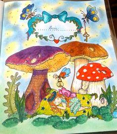 Colouring book: Něhyplné čarovnosti / Tenderful Enchantments, Klara Markova