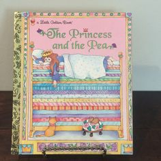 The Princess and the Pea A Little Golden Book 1994 by TaniastreasuresFinds on Etsy https://www.etsy.com/listing/529236561/the-princess-and-the-pea-a-little-golden
