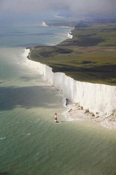 White Cliffs of Dover, forming part of the English coastline facing the Strait of Dover and France