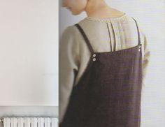 Women's pinafore dress japanese style.