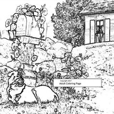 outdoor coloring page sketch 2 printable coloring page