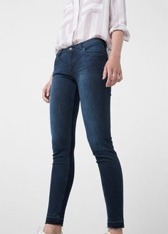 Jeans cintura baixa Mery