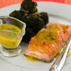 Апельсиновый соус для рыбы Best Salmon Recipe, Salmon Recipes, Fish Recipes, Seafood Recipes, Vegan Recipes, Cooking Recipes, Pan Seared Salmon, Fish Dishes, Fish And Seafood