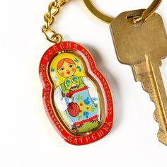 Russia Matreshka Keychain $6.99 from therussianstore.com