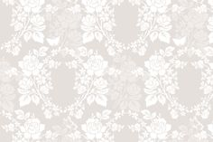 Sylke Damask belgian linen fabric by lilyoake on Spoonflower - custom fabric