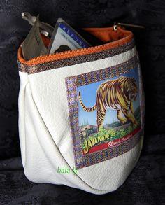 BOURSE #PORTE-MONNAIE #purse #money #india #coins #elephant#tiger#tigre#cléf#keys #Inde de la boutique BALALY sur Etsy