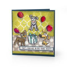 Age in Dog Year's Card - Catalog