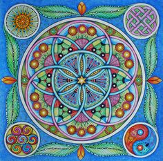 Flower of Life by Fransien de Vries