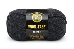 Wool-Ease Chunky at Lion Brand Yarn in Charcoal